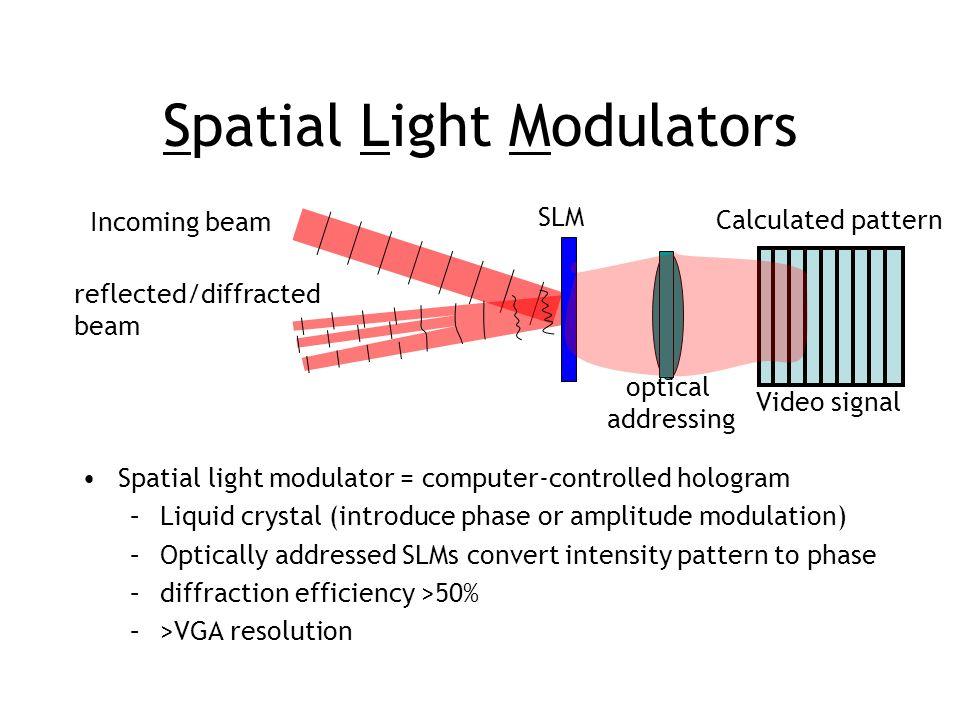 Spatial Light Modulators