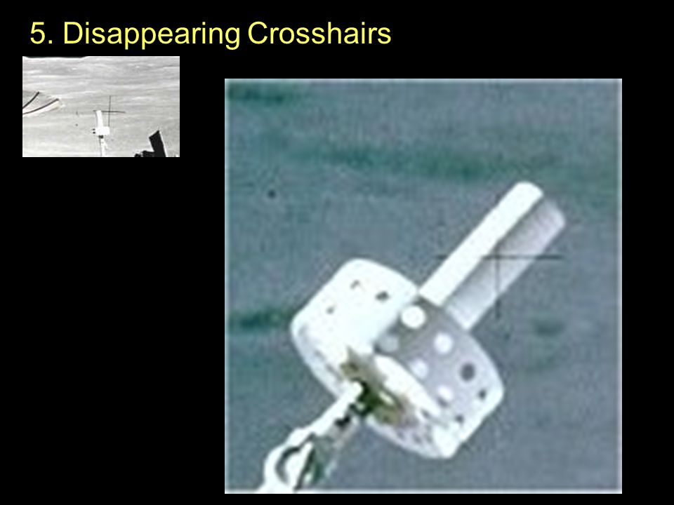 5. Disappearing Crosshairs