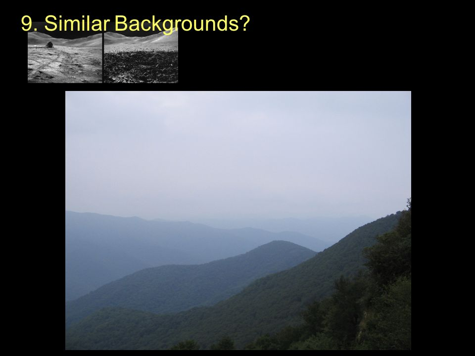 9. Similar Backgrounds