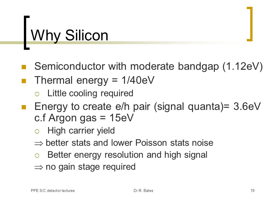 Why Silicon Semiconductor with moderate bandgap (1.12eV)