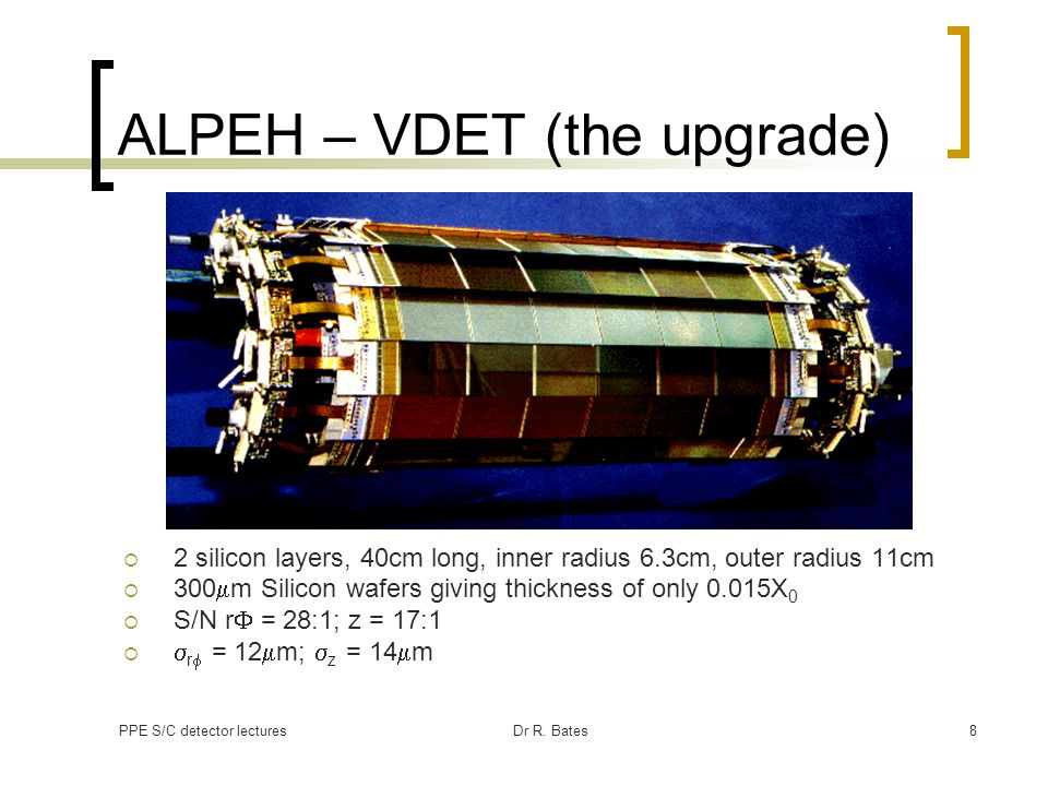 ALPEH – VDET (the upgrade)