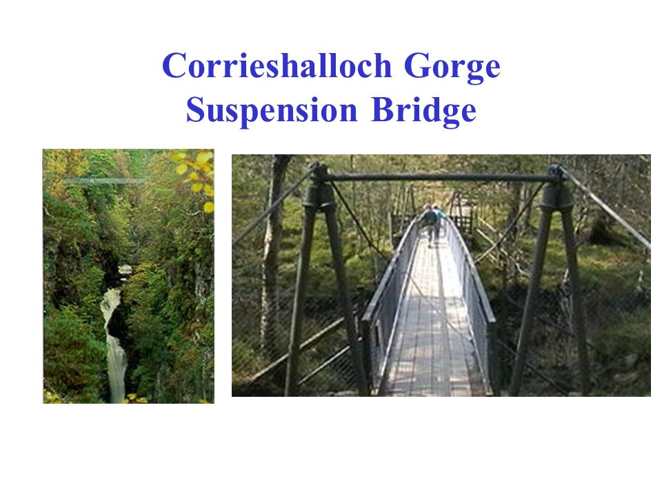 Corrieshalloch Gorge Suspension Bridge