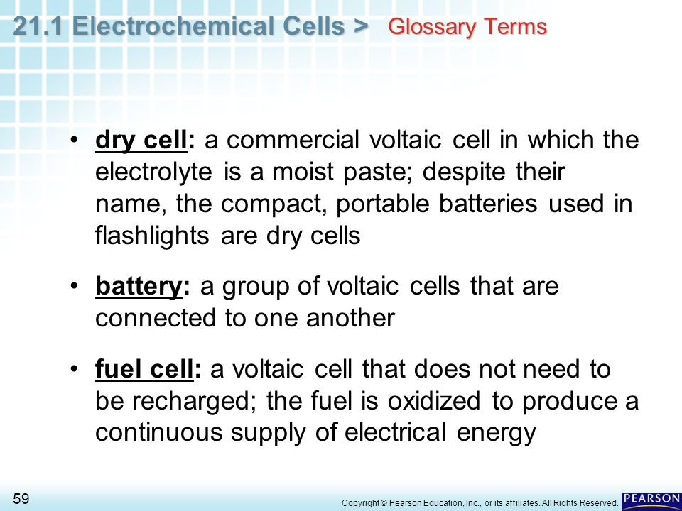 electrochemistry commercial voltaic cells A galvanic cell is an electrochemical cell that uses the transfer of electrons in redox reactions to supply an electric current this cell is driven by a spontaneous chemical reaction that produces an electric current through an outside circuit.
