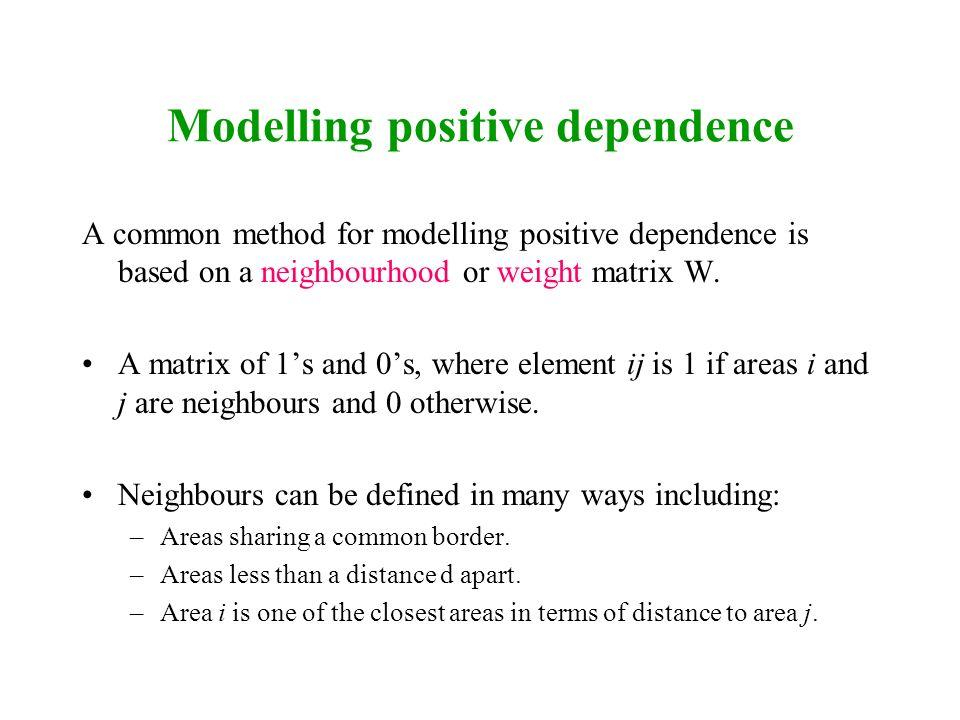 Modelling positive dependence
