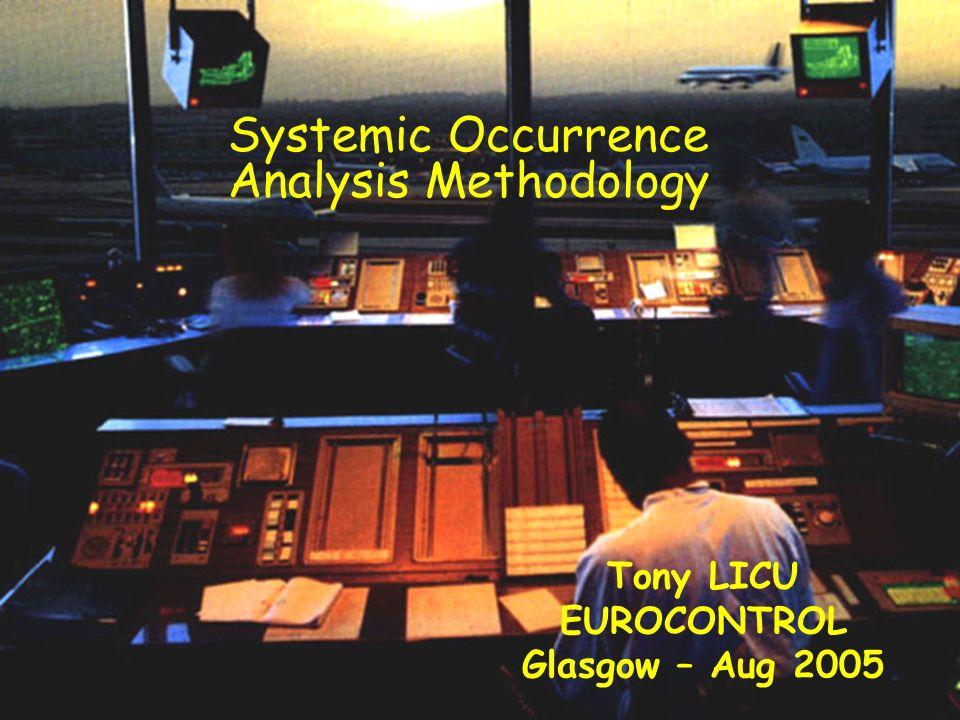 Tony LICU EUROCONTROL Glasgow – Aug 2005