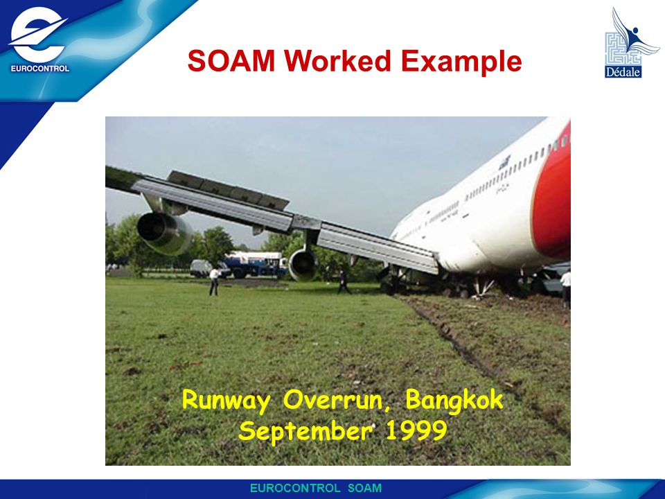 Runway Overrun, Bangkok September 1999