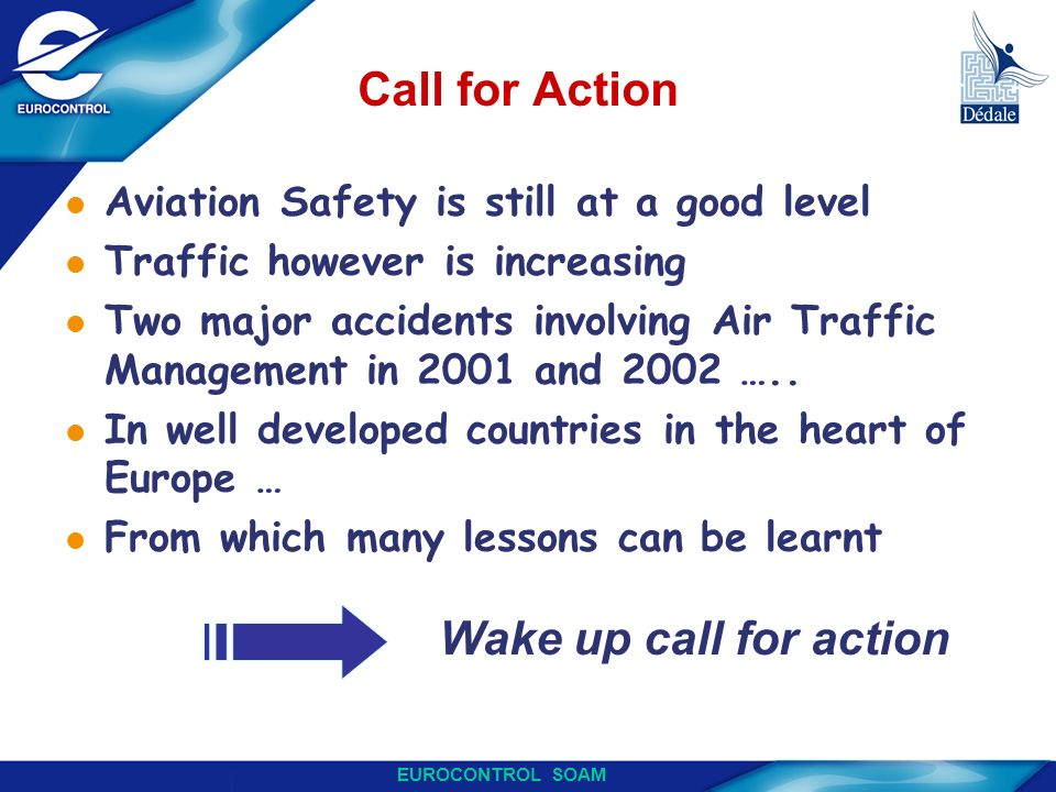 Call for Action Wake up call for action Wake up call for action