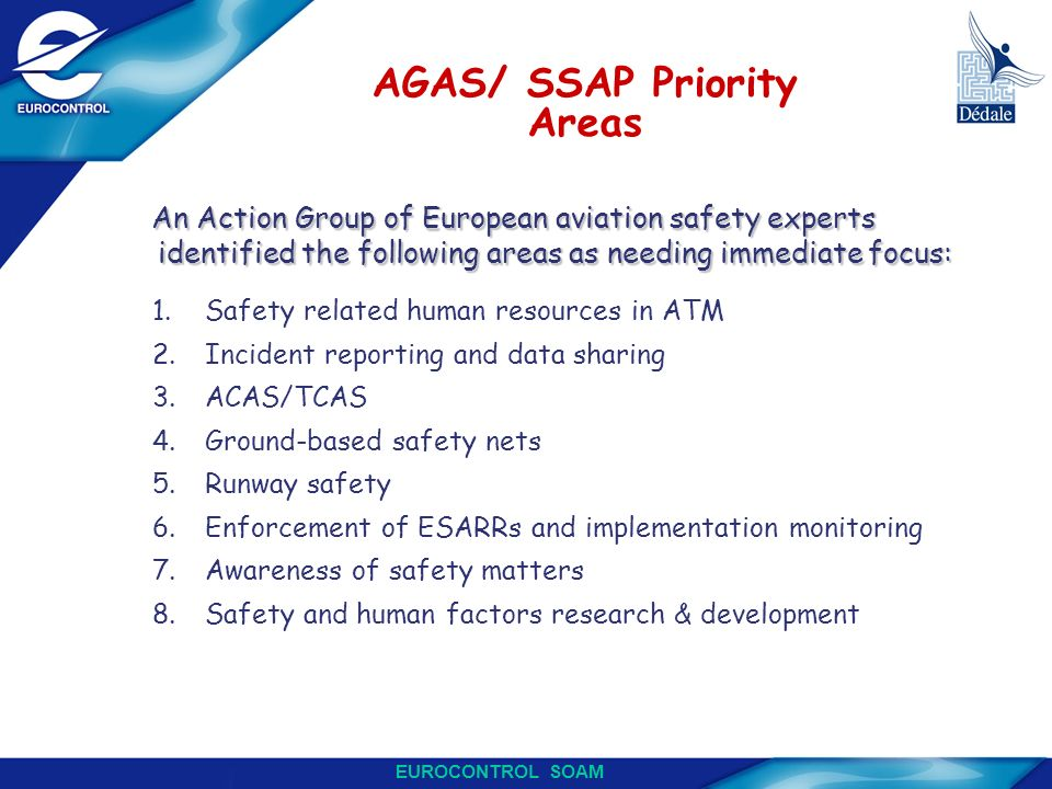 AGAS/ SSAP Priority Areas