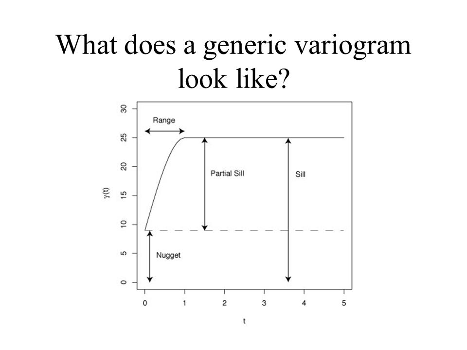 What does a generic variogram look like