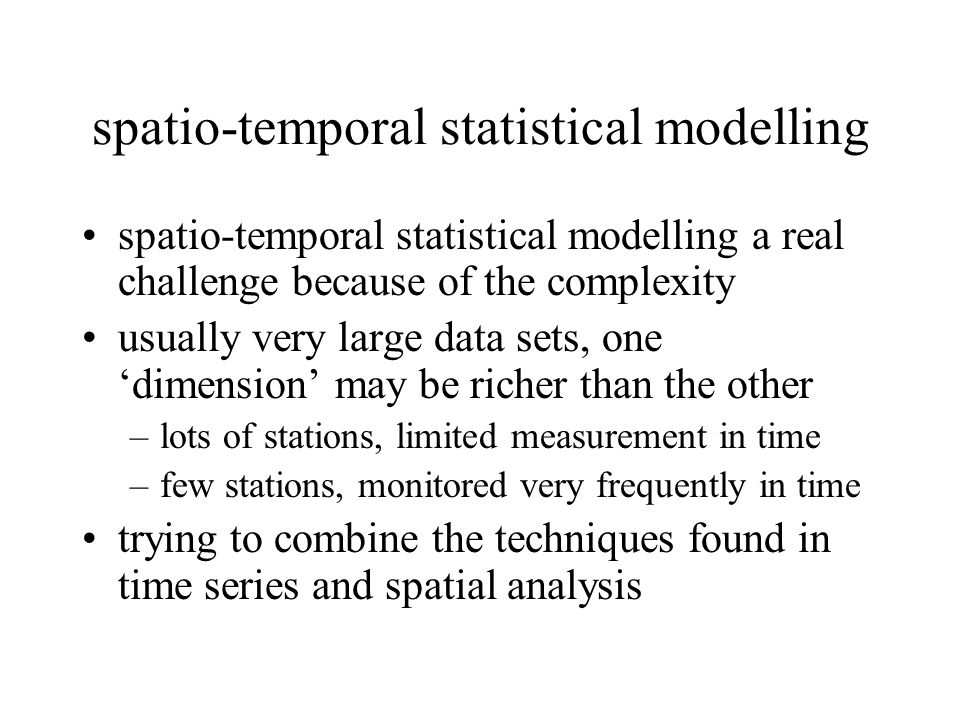 statistical analysis of spatial and spatio-temporal point patterns pdf