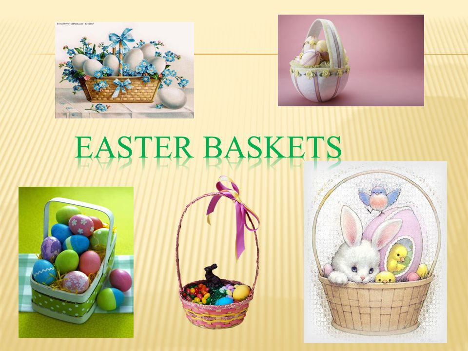 We celebrate easter ppt download 4 easter baskets negle Gallery
