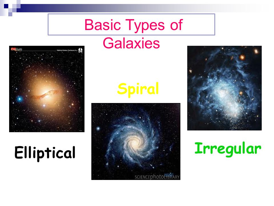 types of galaxies spiral - photo #14