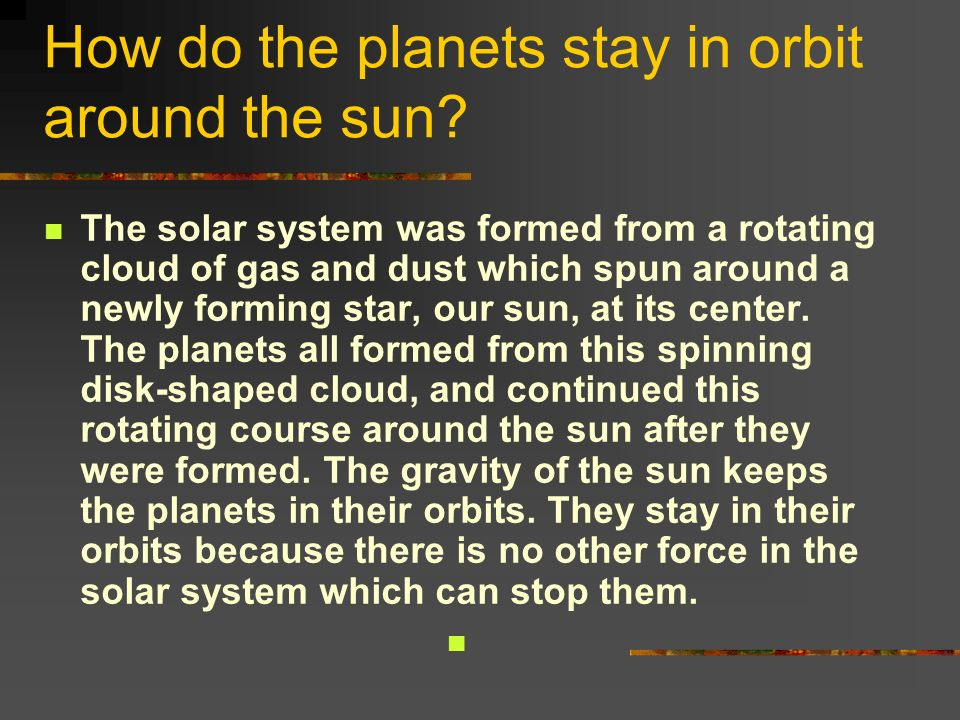 what keeps the planets and moons in orbit - photo #36