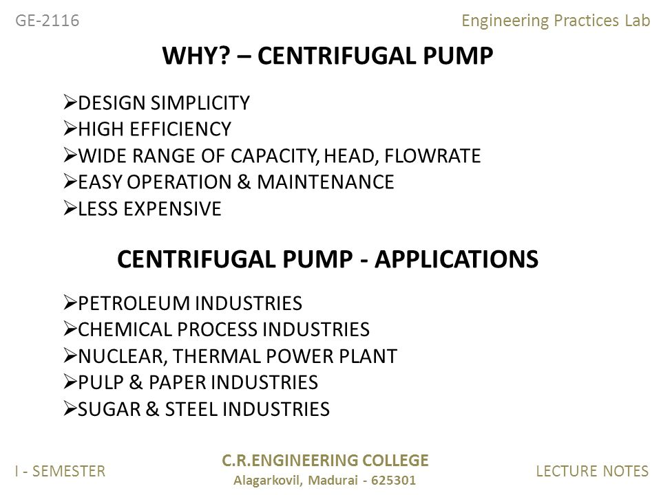 structural engineering centrifugal pump test laboratory engineering essay Home»engineering»btech-2004-curriculum-2 » btech (2004 curriculum)  based on the test performance and project report of the  genetic engineering laboratory.