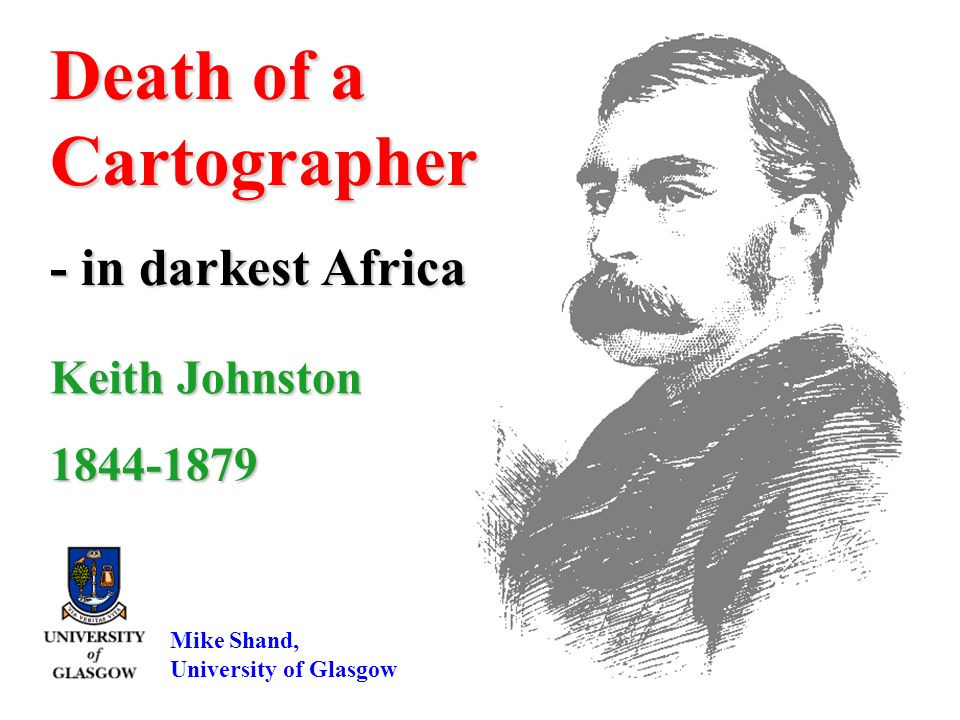 Death of a Cartographer