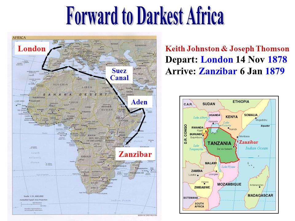 Forward to Darkest Africa
