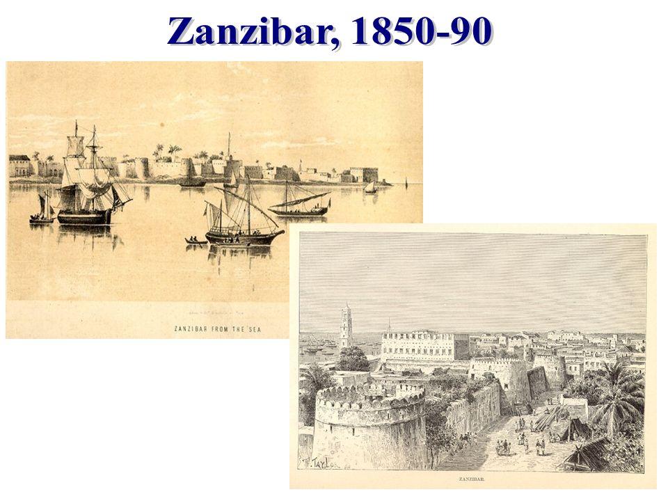 Zanzibar, 1850-90