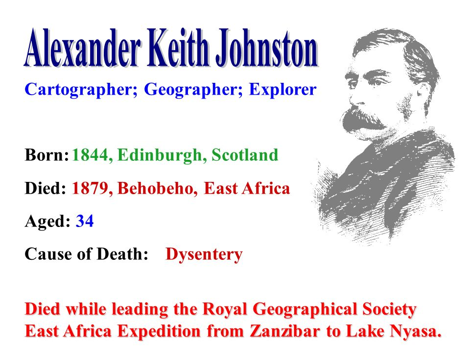 Alexander Keith Johnston