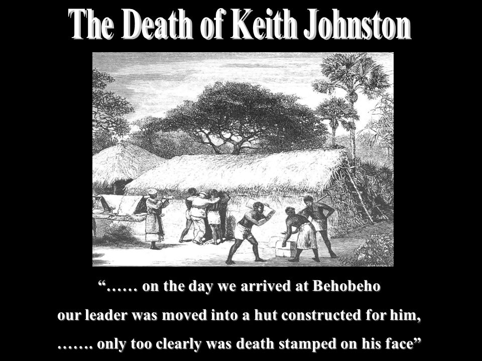 The Death of Keith Johnston
