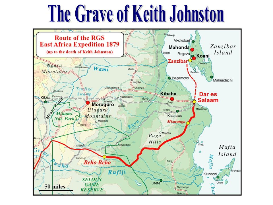 The Grave of Keith Johnston
