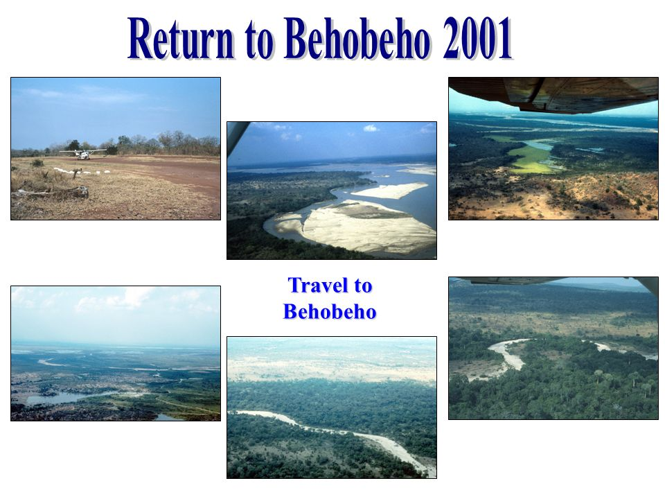 Return to Behobeho 2001 Travel to Behobeho