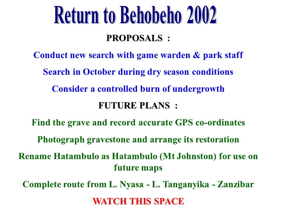 Return to Behobeho 2002 PROPOSALS :