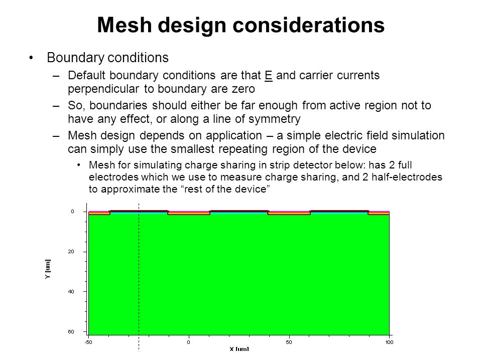 Mesh design considerations