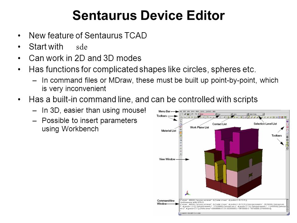 Sentaurus Device Editor