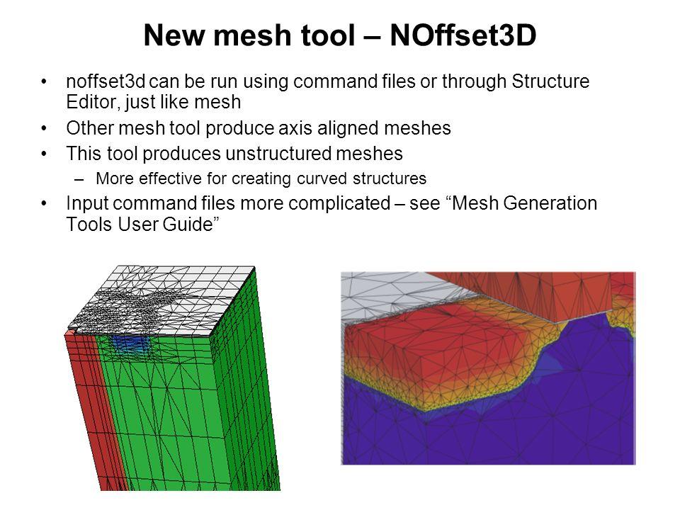 New mesh tool – NOffset3D