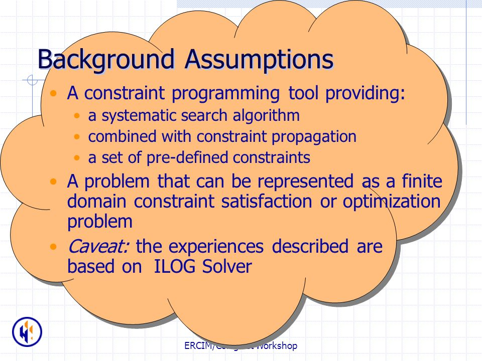 Background Assumptions