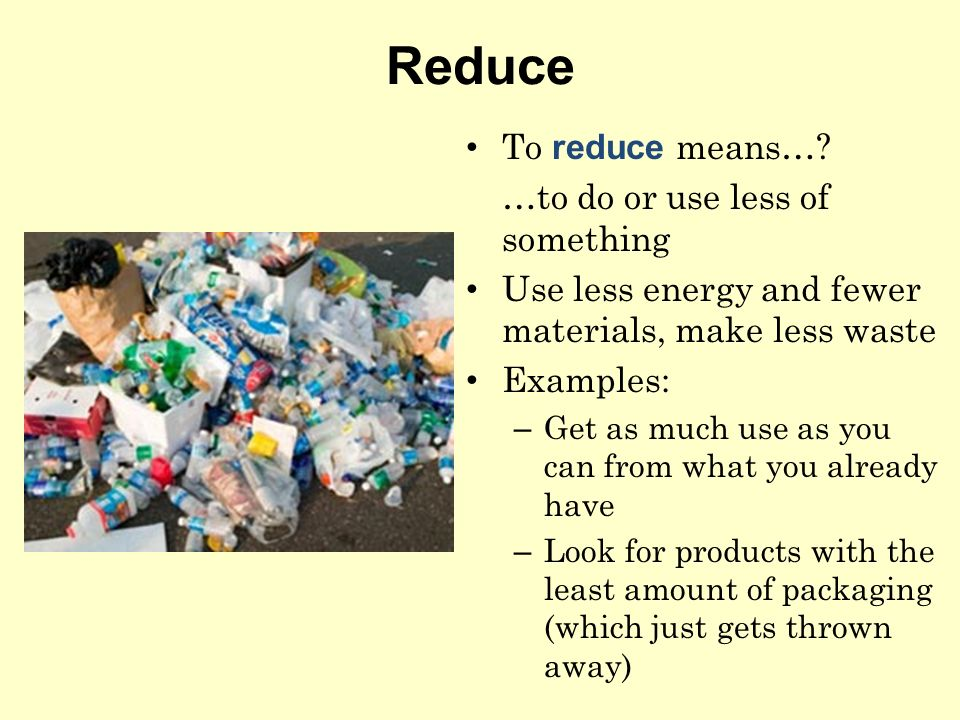 using the three rs to help the environment ppt video