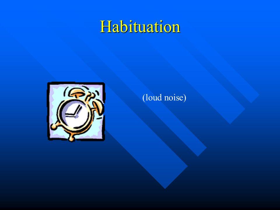 Habituation (loud noise)