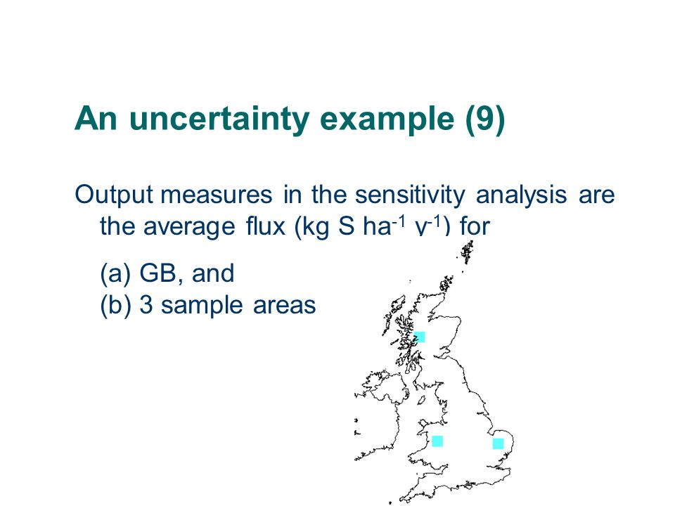 An uncertainty example (9)