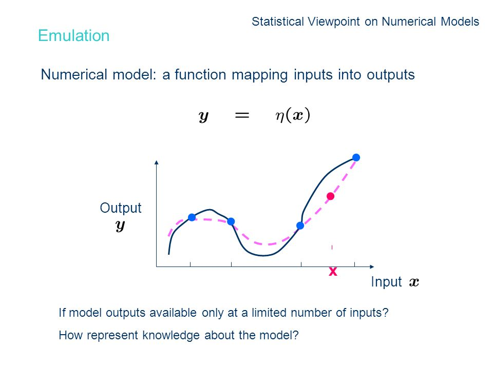 Statistical Viewpoint on Numerical Models