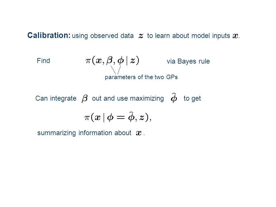 Calibration: using observed data to learn about model inputs .