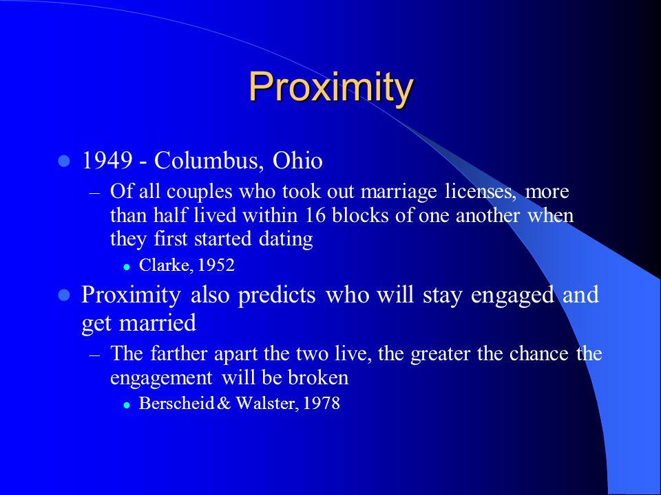 Proximity 1949 - Columbus, Ohio