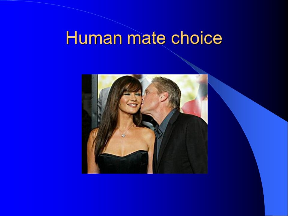 Human mate choice