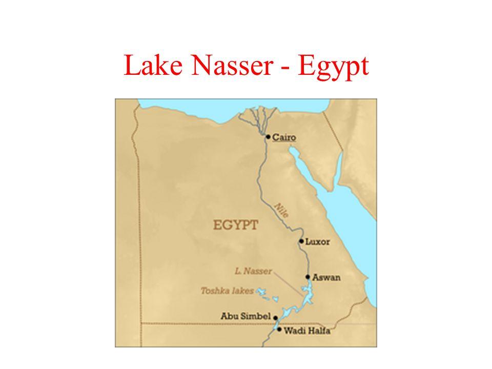 Lake Nasser - Egypt