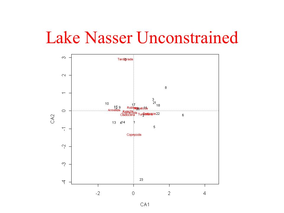 Lake Nasser Unconstrained