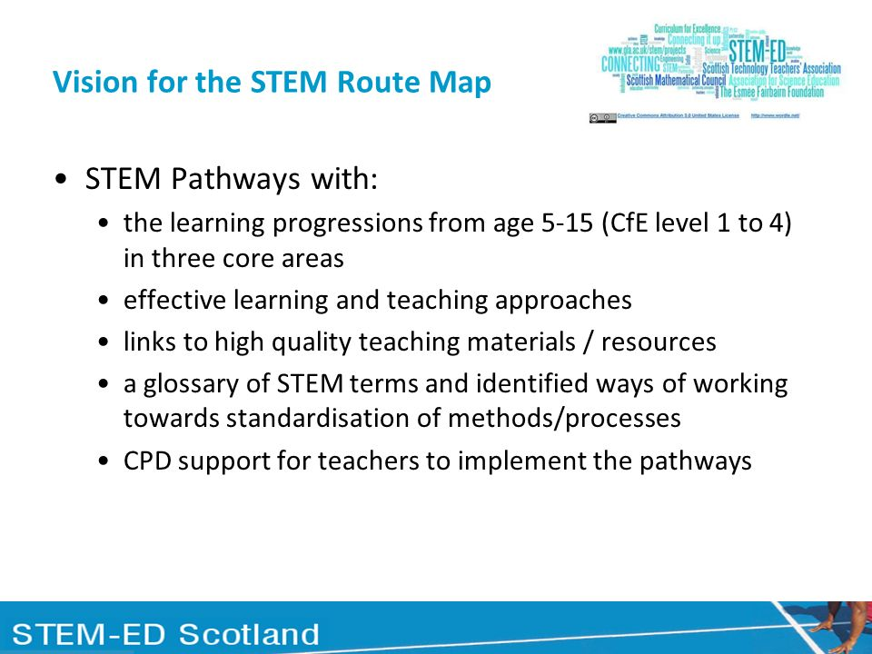 Vision for the STEM Route Map