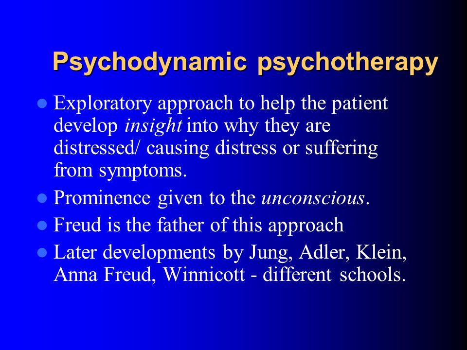 Psychodynamic psychotherapy