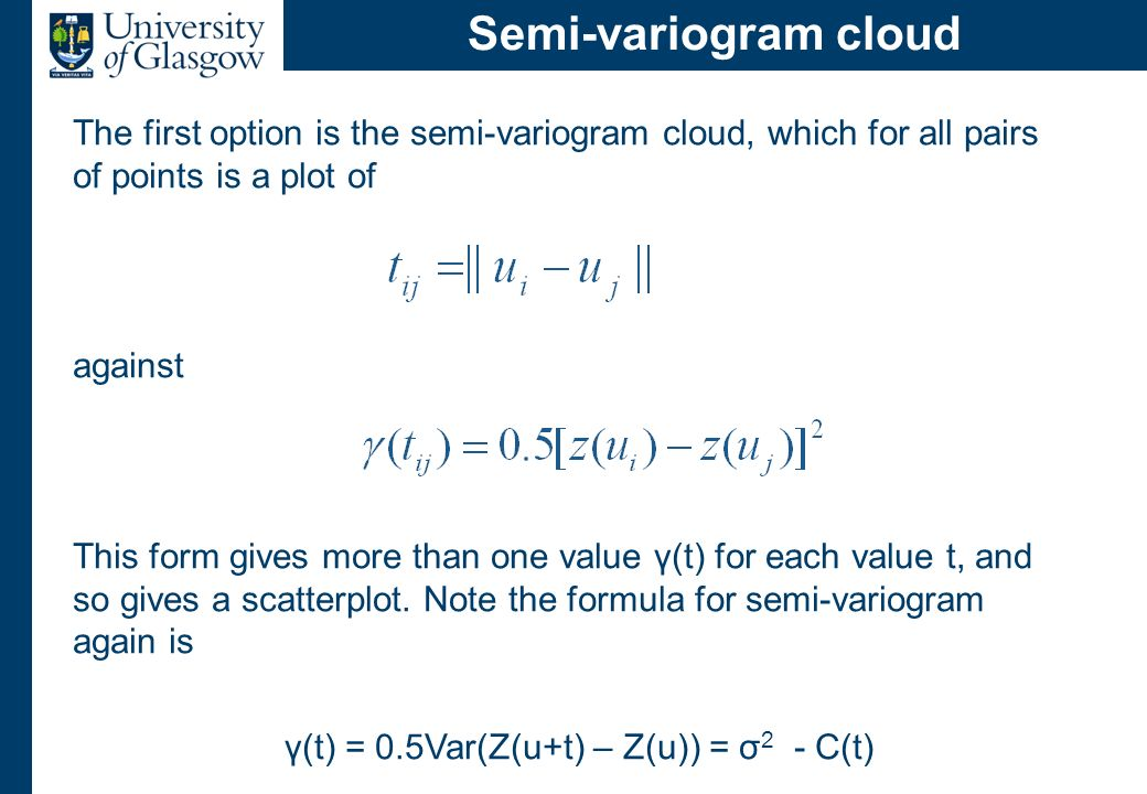 Semi-variogram estimator