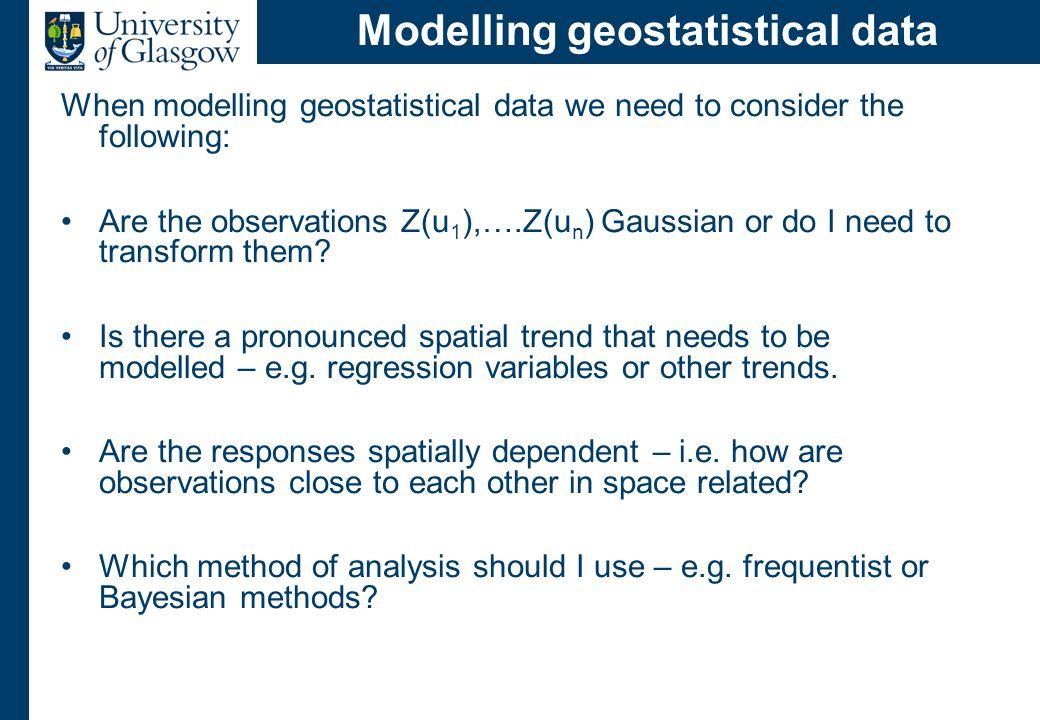 General geostatistical model