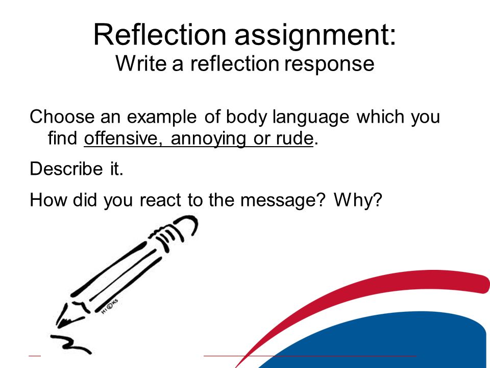 fon1 reflective assignment guideline