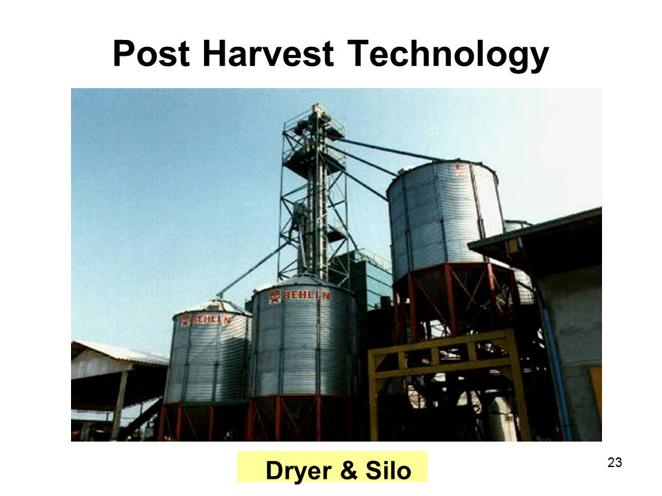 CONTRACT FAR... Harvest Technology