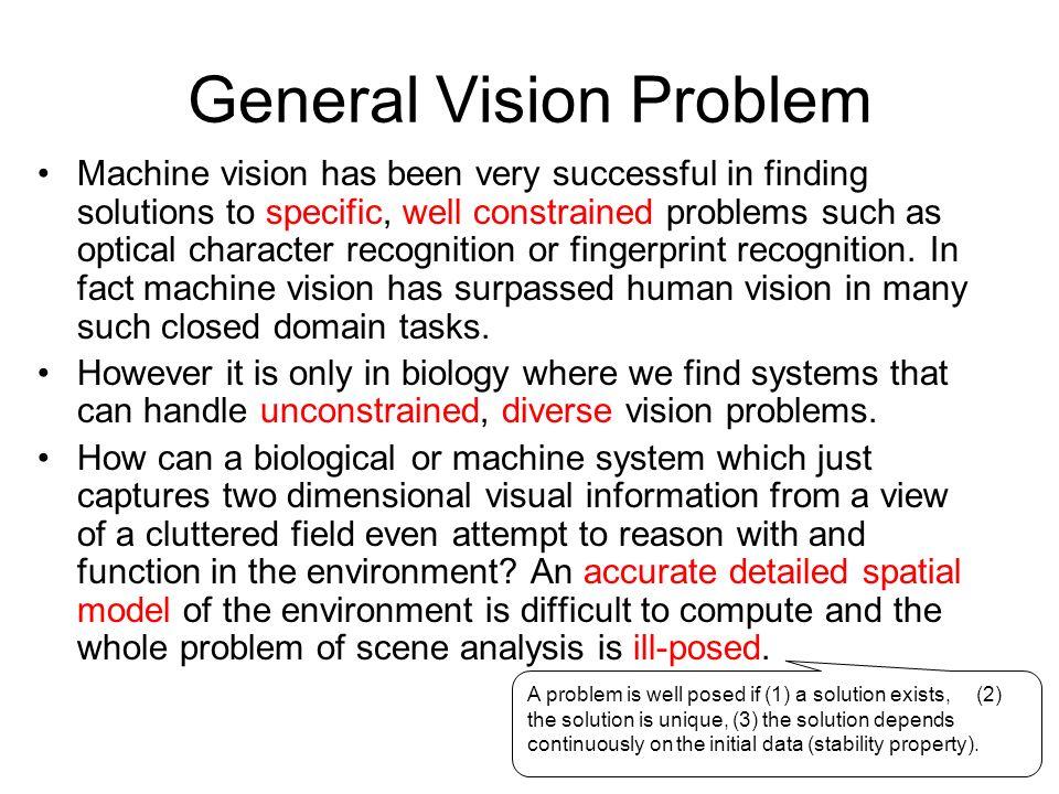 General Vision Problem