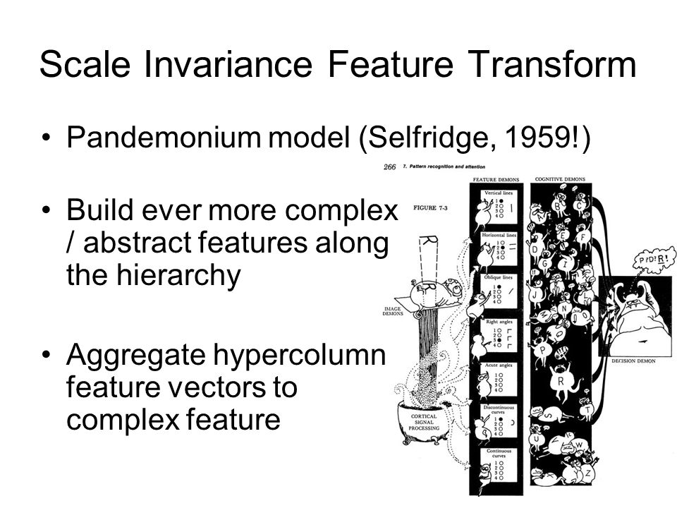 Scale Invariance Feature Transform