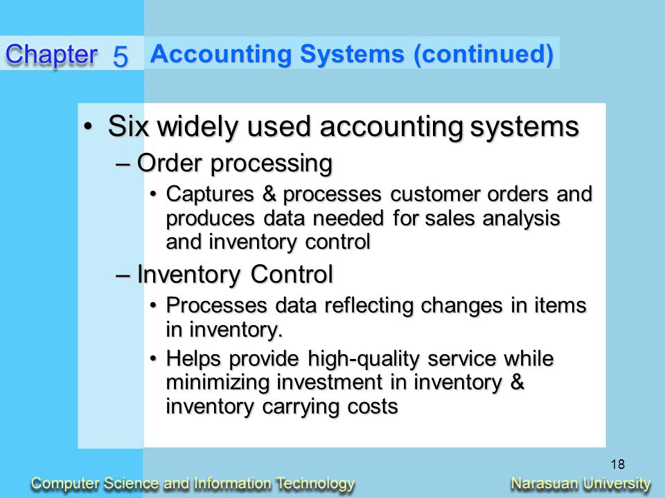 Accounting information system model corporation service