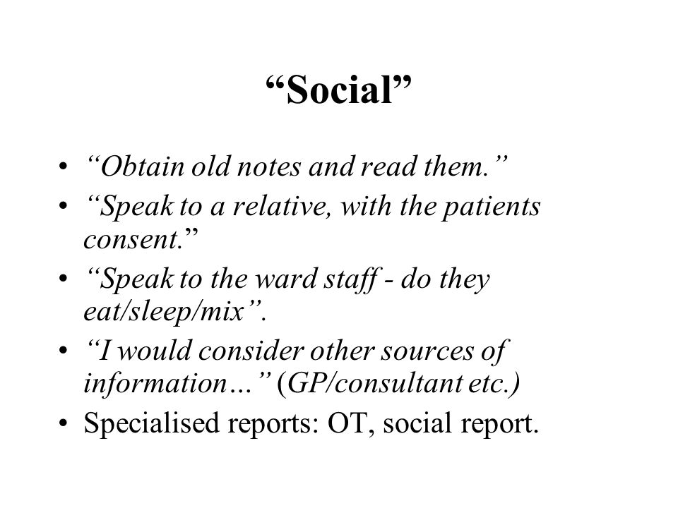 Social Obtain old notes and read them.