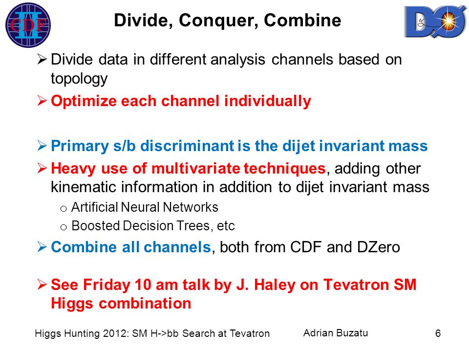 Divide, Conquer, Combine